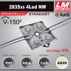 Светодиодный модуль 2835xs 4LED NW (код товара 1079)