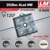 Светодиодный модуль 3528ms 4Led NW (код товара 1029)